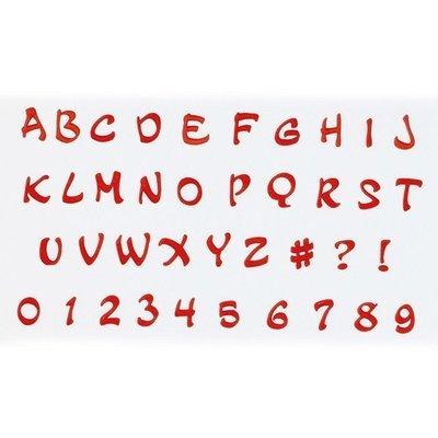 FMM Alphabet Tappit -MAGICAL UPPERCASE & Numbers -Κουπάτ Λατινική Αλφάβητο -Μεγάλα Γράμματα & Αριθμοί