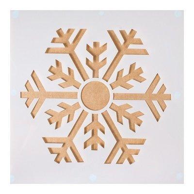 Cake Star - Stencil Snowflake - Στένσιλ Χιονονιφάδα - 148x148χιλ