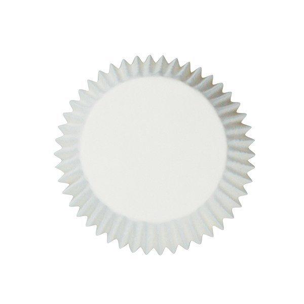 Cake Star - Cupcake Cases Plain White - Λευκές Θήκες Ψησίματος για Cupcakes/muffins - 54τμχ/πακέτο - 50χιλ