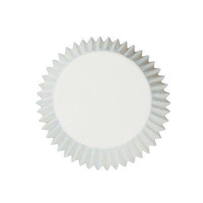 Cake Star Cupcake Cases -PLAIN WHITE -Λευκές Θήκες Ψησίματος 54 τεμ