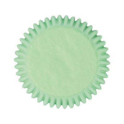 Culpitt BULK Cupcake Cases -PLAIN GREEN -Θήκες Ψησίματος -Πράσινο 250 τεμ