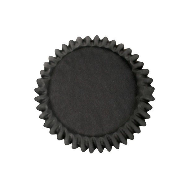 Culpitt - Bulk Cupcake Cases Plain Black - Θήκες Ψησίματος - Μαύρο - 250τμχ/πακέτο - 50χιλ