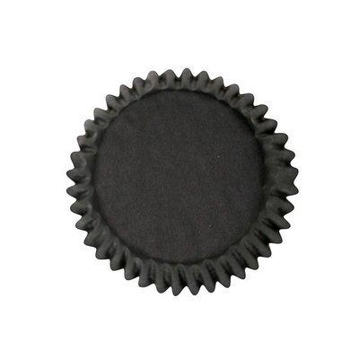 Culpitt BULK Cupcake Cases -PLAIN BLACK -Θήκες Ψησίματος -Μαύρο 250 τμχ