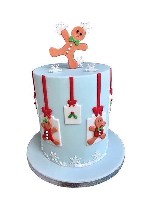 FMM - Gingerbread People Set - Κουπάτ Μπισκοτένια Ανθρωπάκια - 2τεμ/πακέτο - 60 + 40χιλ