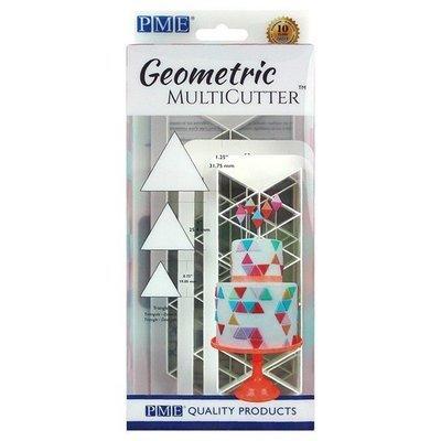 PME Geometric Multicutters -Set of 3 -EQUILATERAL TRIANGLE -Πολλαπλό Κουπάτ Γεωμετρικό Ισόπλευρο Τρίγωνο 3 τεμ
