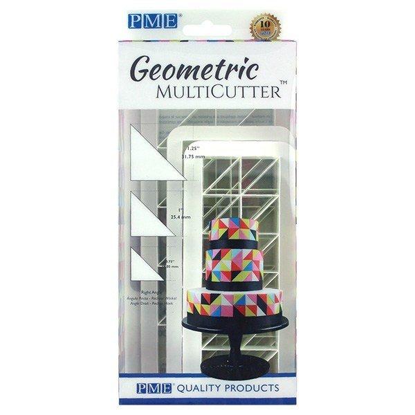 PME Geometric Multicutters -Set of 3 -RIGHT ANGLE TRIANGLE -Πολλαπλό Κουπάτ Γεωμετρικό Τρίγωνο Ορθή Γωνία 3 τεμ