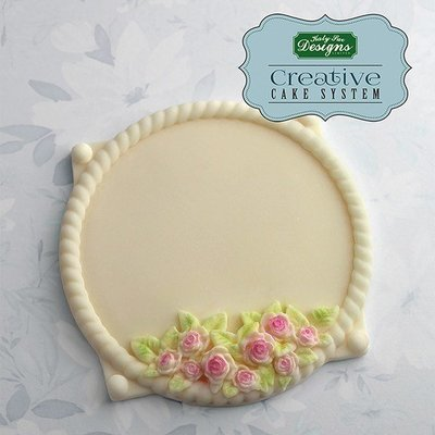 Katy Sue Petite Fleur Circle Plaque