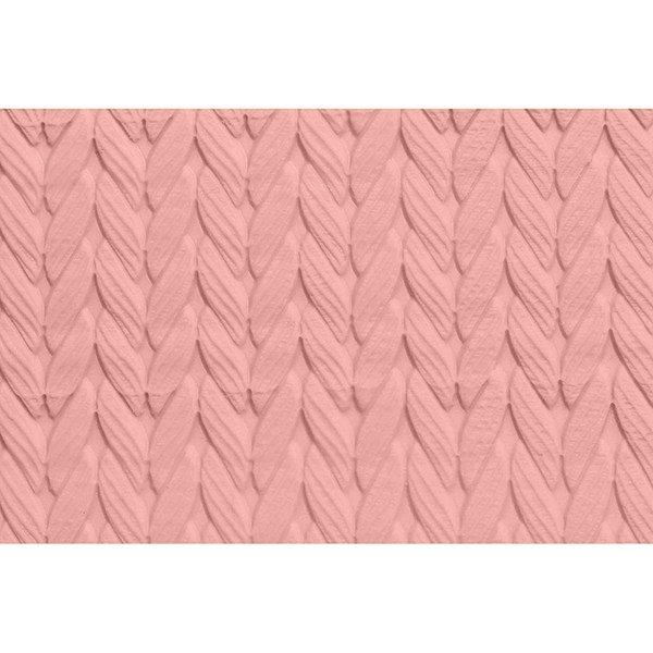 FMM - Embossed Rolling Pin Knit - Ανάγλυφος Πλάστης Πλεκτό - 16χιλ