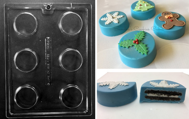 Oreo Cookie Chocolate Mould