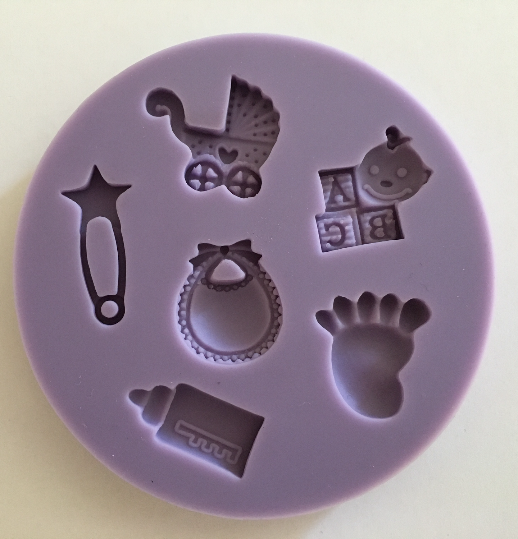 #Mould - Baby Designs - Καλούπι Θέμα Μπεμπέ/Μωρουδιακά - Περίπου 6εκ
