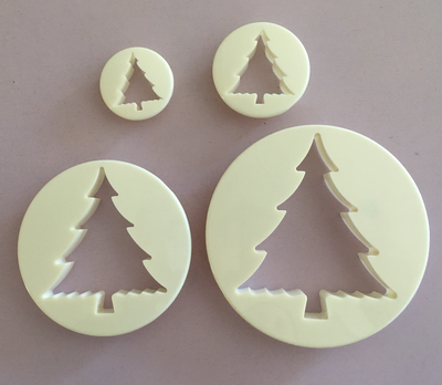 #Cutter - Tree Cutters 4pcs - Κουπάτ Έλατο - 4τεμ/πακέτο