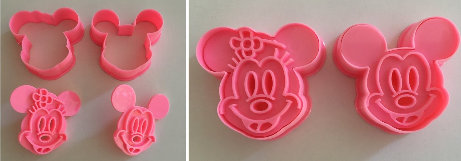 Mickey & Minnie Mouse Cutters & Embossers
