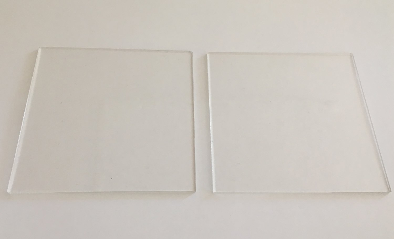 Cakes By Samantha - Square Ganaching Plates set of 2 - Τετράγωνες Βάσεις Πιάτα  για Επικάλυψη Τούρτας με Γκανάς - 10εκ - 2τεμ/πακέτο