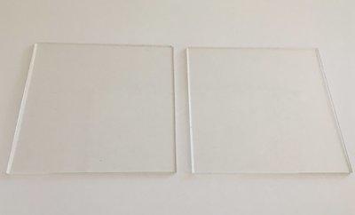 Cakes By Samantha Ganaching Plates -SQUARE 10cm Τετράγωνες Βάσεις Πιάτα  για Επικάλυψη Τούρτας με Γκανάς -10εκ -2 τεμ