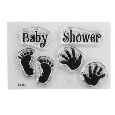 impressit™ Baby Shower Stamp Set - Σετ Μωρουδίστικη Σφραγίδα