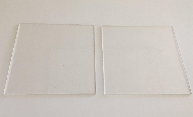 Cakes By Samantha - Square Ganaching Plates set of 2 - Τετράγωνες Βάσεις Πιάτα  για Επικάλυψη Τούρτας με Γκανάς - 23εκ - 2τεμ/πακέτο