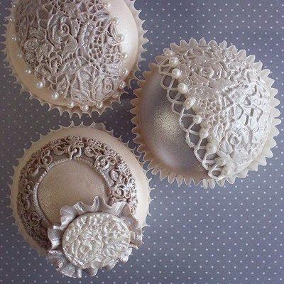 Katy Sue Mould -Lace Design Mat Vintage Rose -Καλούπι Σχέδιο Δαντέλας Τριαντάφυλλο