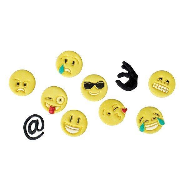 FMM - Tappit Expression Icons Set of 2 Emojis - Κουπάτ Εκφράσεις Προσώπου Εμότζι - 12 εικονίδια/πακέτο - 25x25χιλ