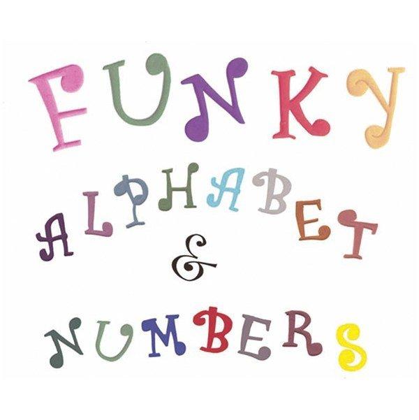 FMM Alphabet Tappit -FUNKY UPPERCASE & Numbers -Κουπάτ Λατινική Αλφάβητο -Μεγάλα Γράμματα & Αριθμοί
