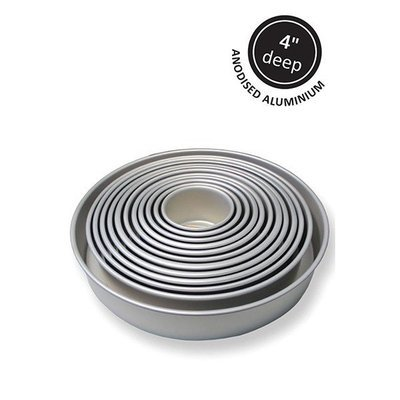 PME  -Baking Tin -Round -Extra Deep (4