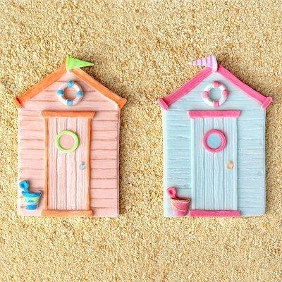 Katy Sue Mould -Beach Hut -Καλούπι Σπιτάκι στην Θάλασσα