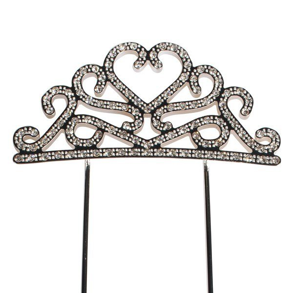 Cake Star - Topper Diamante Tiara 78mm - Τόπερ Στέμμα με Διαμαντάκια - 78χιλ