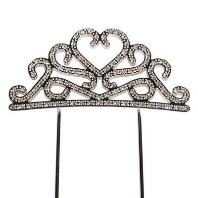 Cake Star Topper Diamante -TIARA -Τόπερ με Διαμαντάκια -Στέμμα