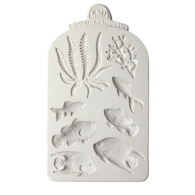 Katy Sue Mould -Fish, Seaweed & Coral -Καλούπι Ψάρια, Φύκι & Κοράλλι