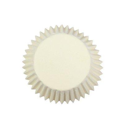 Cake Star Cupcake Cases -PLAIN IVORY -Ιβουάρ Θήκες Ψησίματος 54 τεμ