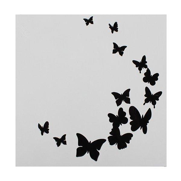 SALE!!! Cake Star - Stencil Butterfly - Στένσιλ Πεταλούδες - 148x148χιλ