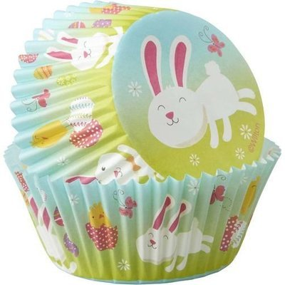 * Wilton Bunny Themed Baking Cases -Pack of 75