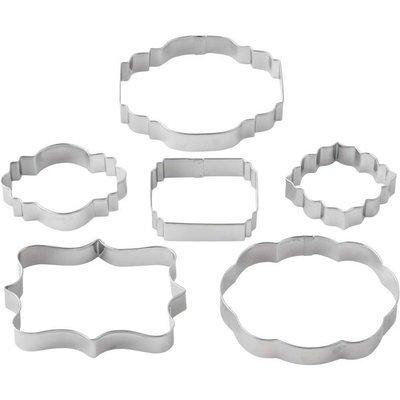 *Wilton - Geometric Frame Cutter Set of 6 -Κουπάντ Γεωμετρικά Κορνίζα 6τμχ