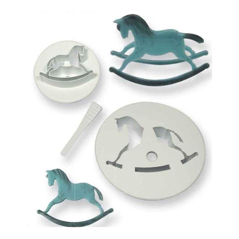 PME Cutters -Set of 2 -ROCKING HORSES Κουπάτ Κουνιστό Αλογάκι 2 τεμ