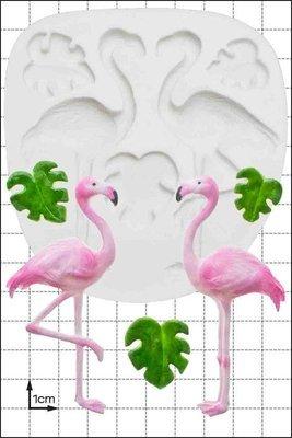 FPC - Flamingos Silicone Mould - Καλούπι Φλαμίνγκο