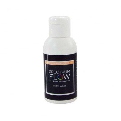 Spectrum Flow Edible Airbrush Paint -MATT WHITE -Χρώμα Αερογράφου 75ml ματ λευκό