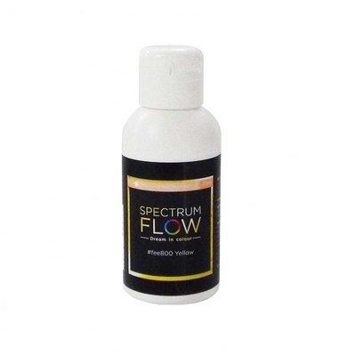 SALE!!! Spectrum Flow Edible Airbrush Paint -MATT YELLOW -Χρώμα Αερογράφου 75ml ματ κίτρινο