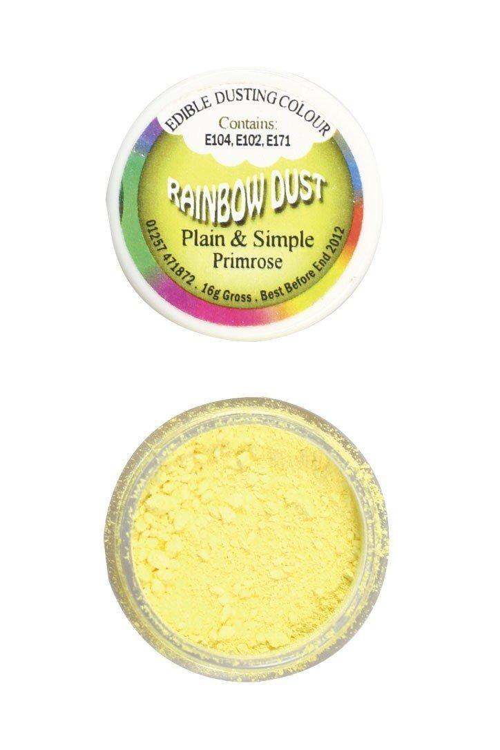 Rainbow Dust - Edible Dust Matt Primrose - Βρώσιμη Σκόνη Ματ Κίτρινο Ηράνθεμο