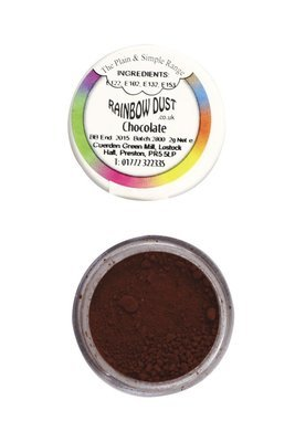 Rainbow Dust - Edible Dust Matt Chocolate - Βρώσιμη Σκόνη Ματ Σοκολατί