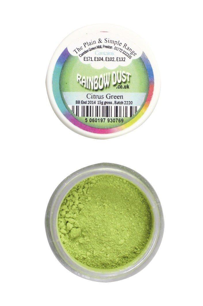 SALE!!! Rainbow Dust - Edible Dust Matt Citrus Green - Βρώσιμη Σκόνη Ματ Εσπεριδοειδές ΑΝΑΛΩΣΗ ΚΑΤΑ ΠΡΟΤΙΜΗΣΗ 12/2022