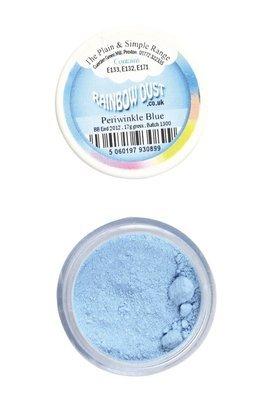 Rainbow Dust - Edible Dust Matt Periwinkle Blue - Βρώσιμη Σκόνη Ματ Γαλάζιο