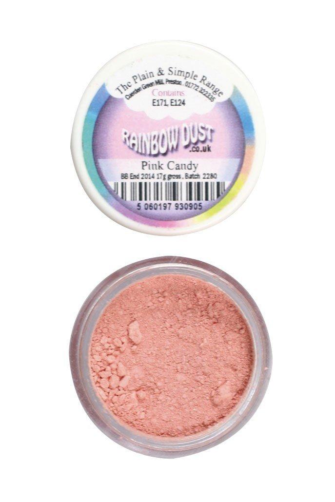 Rainbow Dust Edible Dust -Matt PINK CANDY -Βρώσιμη Σκόνη Ροζ Καραμέλα