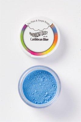 SALE!!! Rainbow Dust -Edible Dust Matt Caribbean Blue - Βρώσιμη Σκόνη Ματ Μπλε της Καραϊβικής