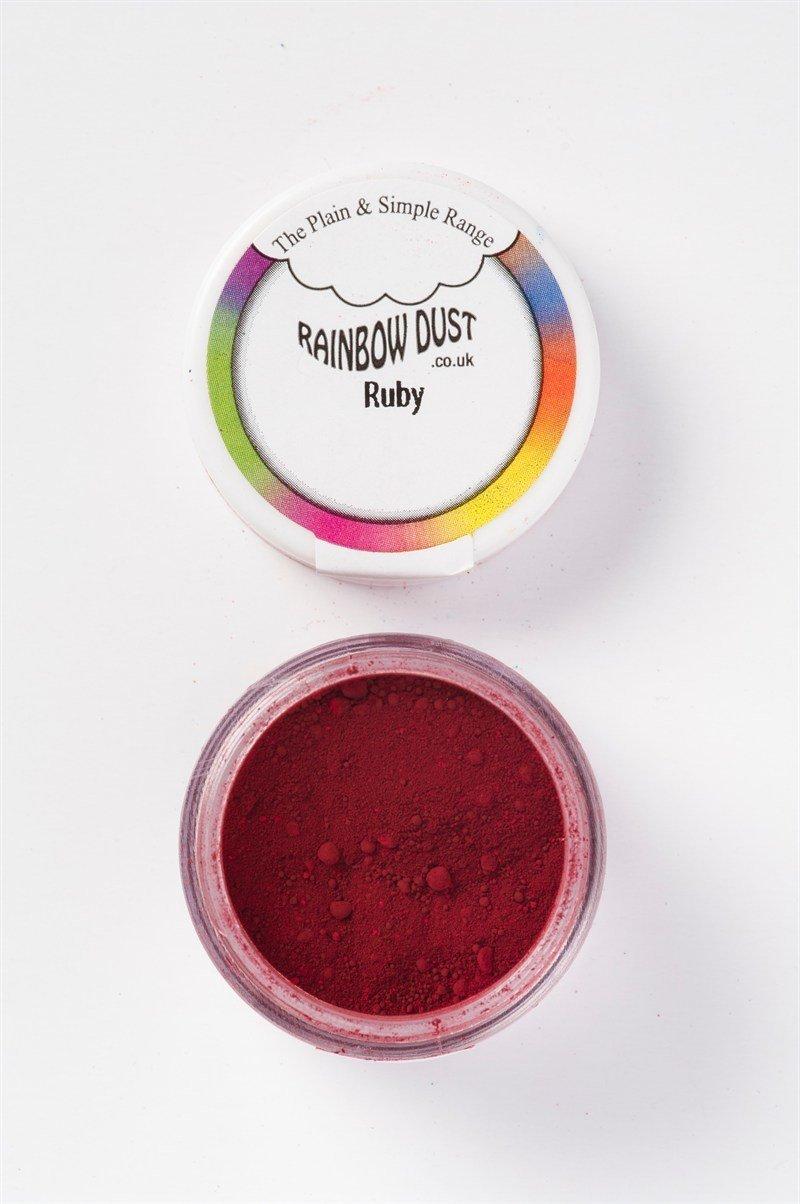 SALE!!! Rainbow Dust - Edible Dust Matt Ruby - Βρώσιμη Σκόνη Ματ Ρουμπίνι ΑΝΑΛΩΣΗ ΚΑΤΑ ΠΡΟΤΙΜΗΣΗ 12/2023