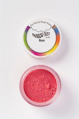 Rainbow Dust - Edible Dust Matt Rose - Βρώσιμη Σκόνη Ματ Ροζέ Τριανταφυλλί