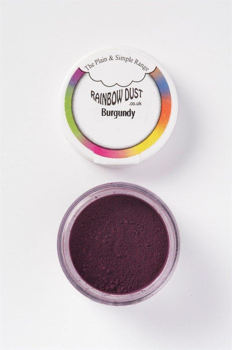 Rainbow Dust - Edible Dust Matt Burgundy - Βρώσιμη Σκόνη Ματ Βουργουνδία