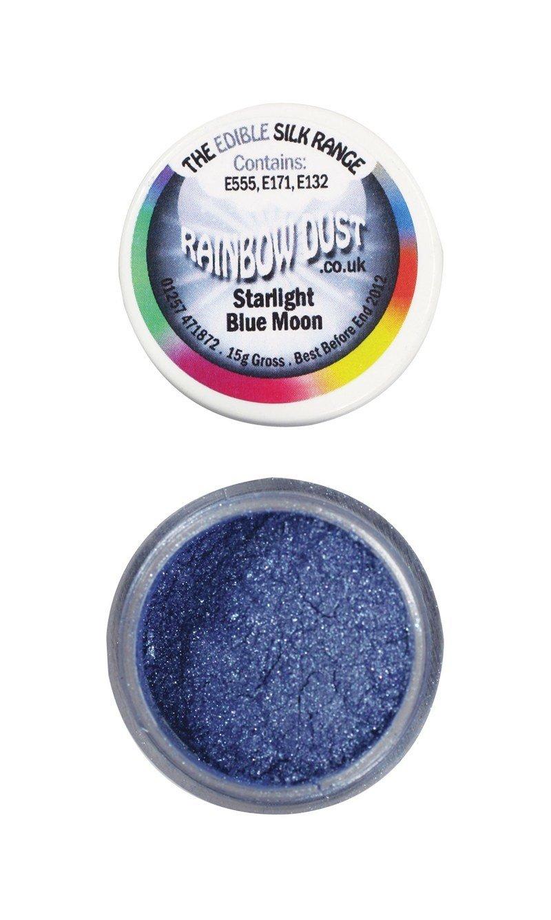 Rainbow Dust Edible Dust -Starlight BLUE MOON -Βρώσιμη Σκόνη Αστραφτερό Μπλε Φεγγάρι