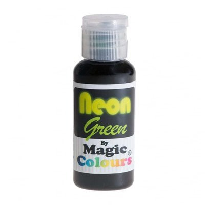 Magic Colours Gel -NEON GREEN -Φωσφοριζέ Πάστα/Ζελέ -Πράσινο 32γρ