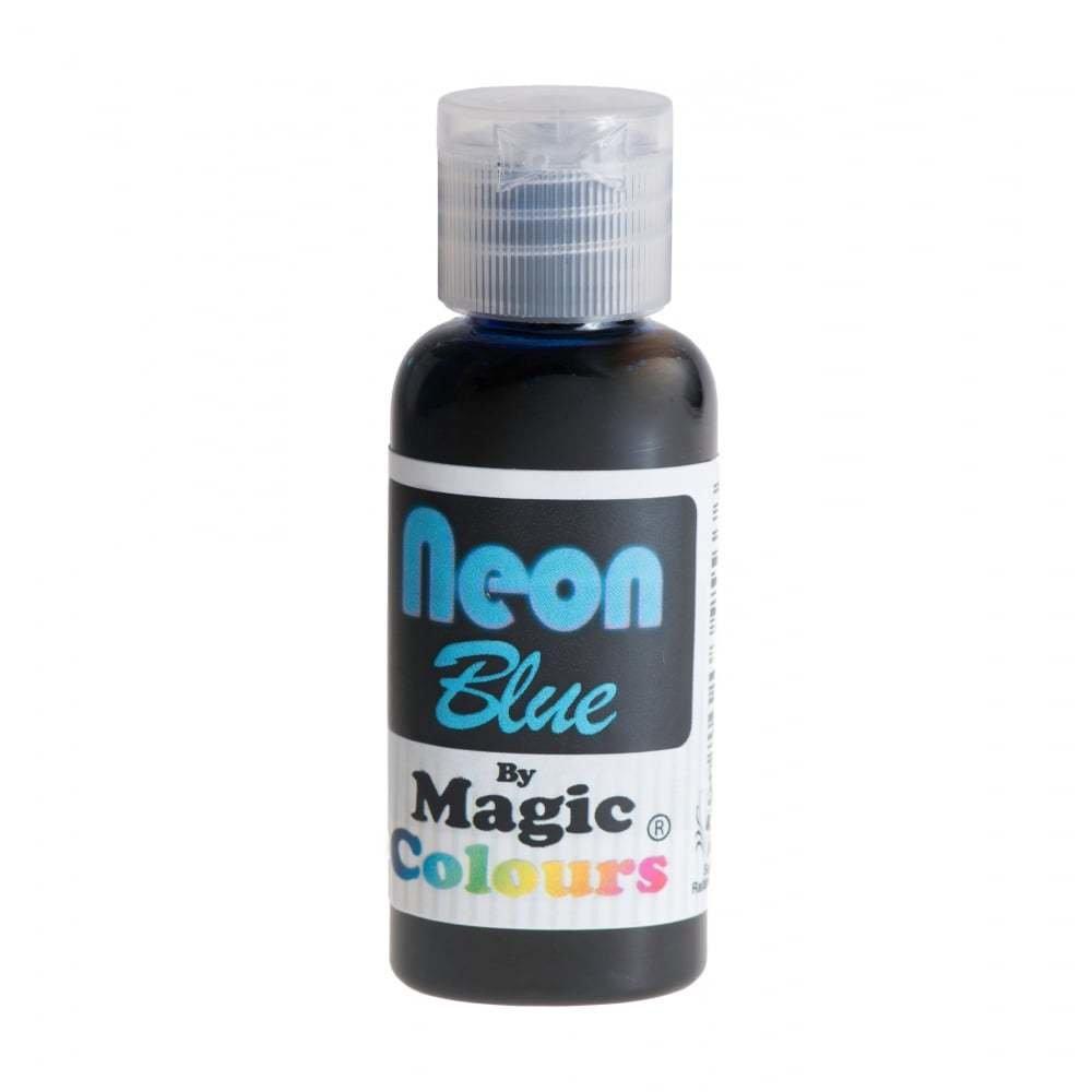 Magic Colours Paste Gel Colours 32g NEON BLUE
