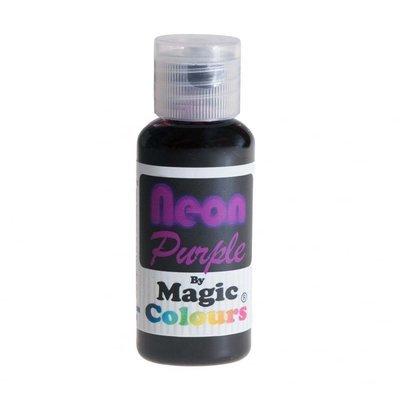 Magic Colours Gel -NEON PURPLE -Φωσφοριζέ Πάστα/Ζελέ -Μωβ 32γρ