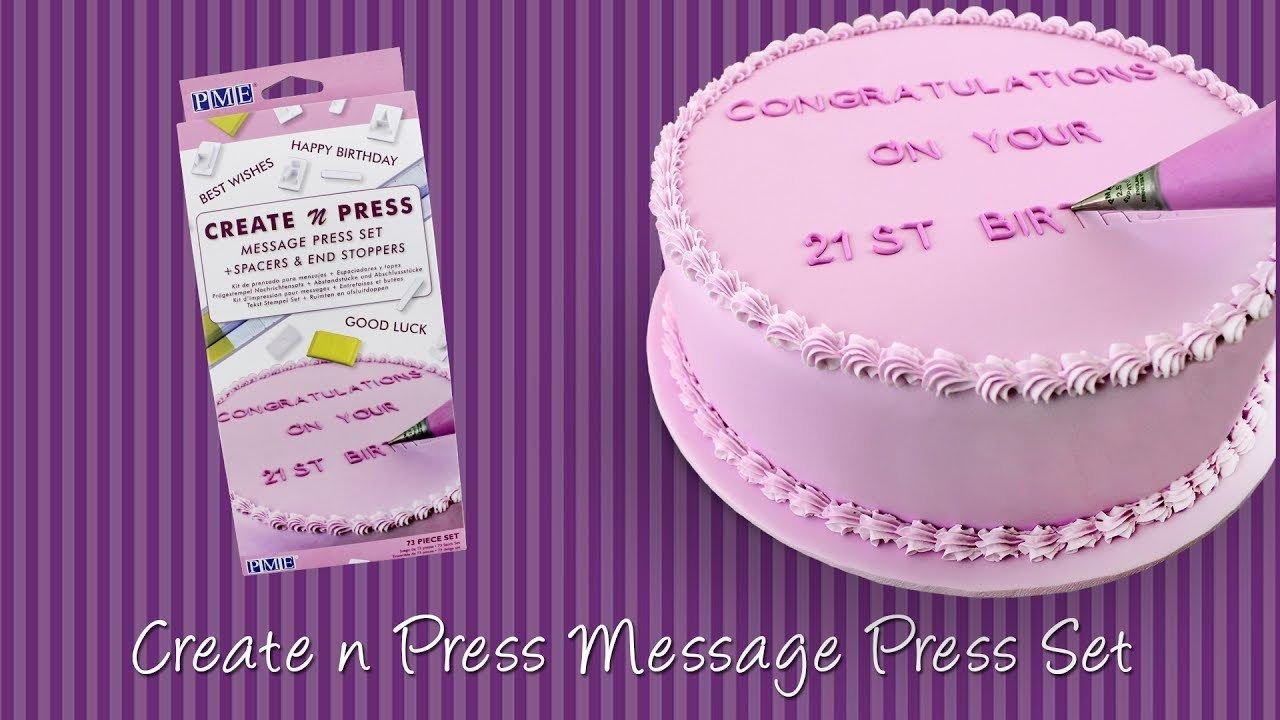 PME Stamps -Create N Press Set